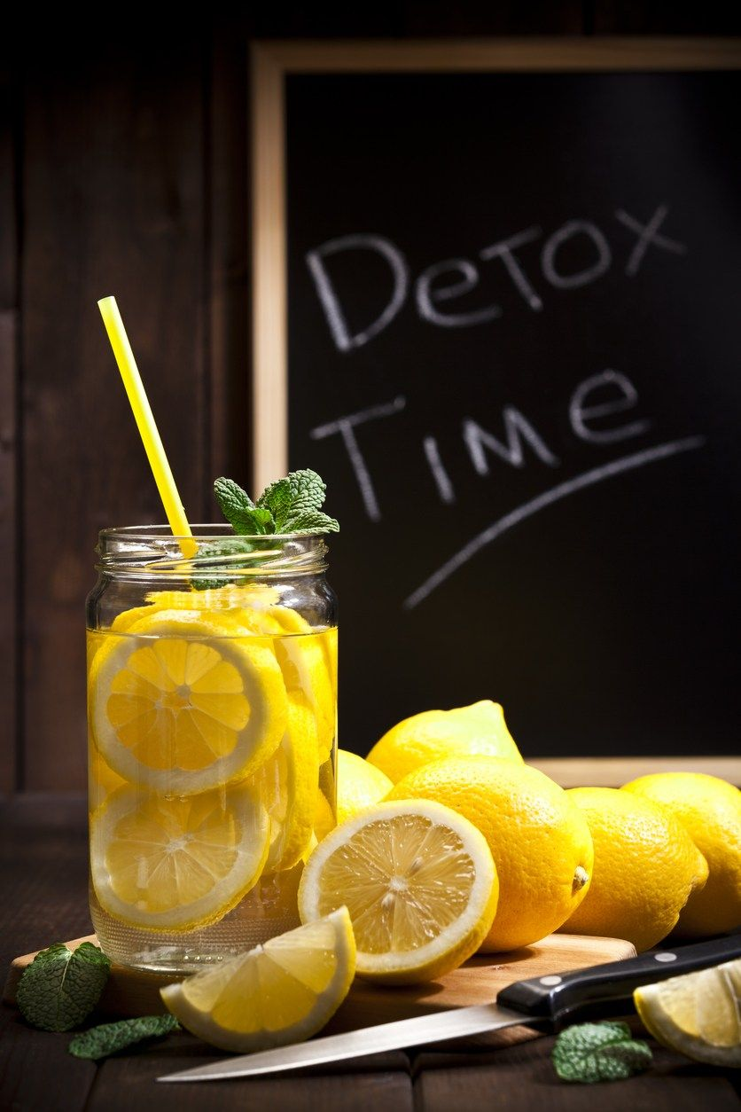 Lemon Mint Detox Water ud Flat Belly  Recipe  Detox Lemon and Water