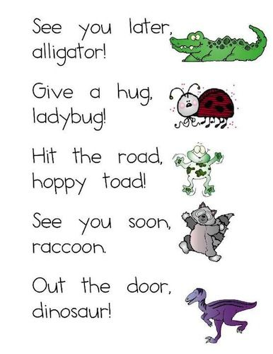 How to translate see you later alligator in french