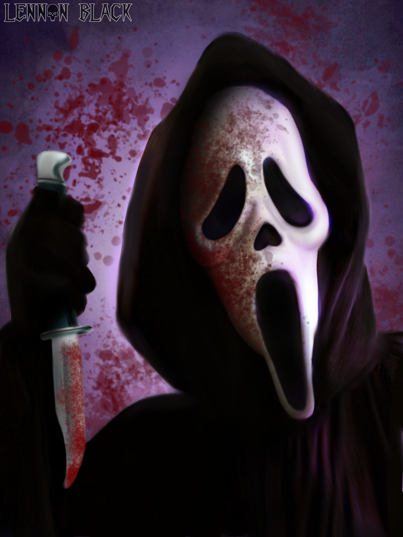 Ghost Face Scream Horror Villains Ghost Movies Classic Horror
