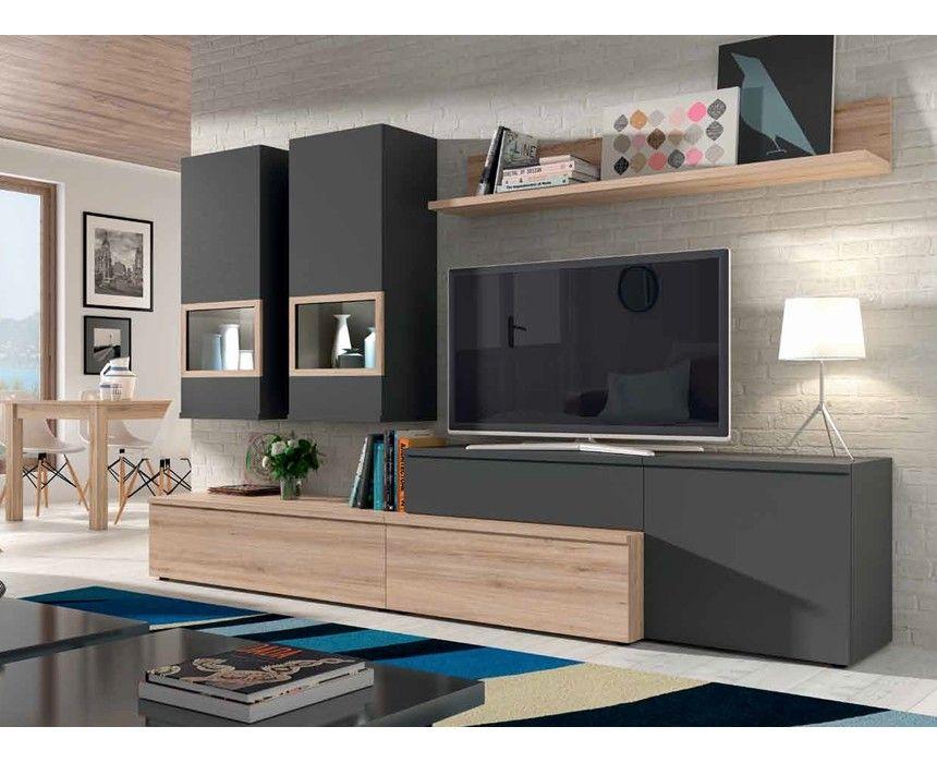 Sal n modelo alicante 4 salones modernos comedores sal n moderno y muebles salon - Muebles salon alicante ...