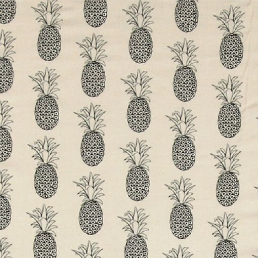 viscose gewebt puder mit schwarzer ananas von stoff und stil stoffe pinterest stoff und. Black Bedroom Furniture Sets. Home Design Ideas