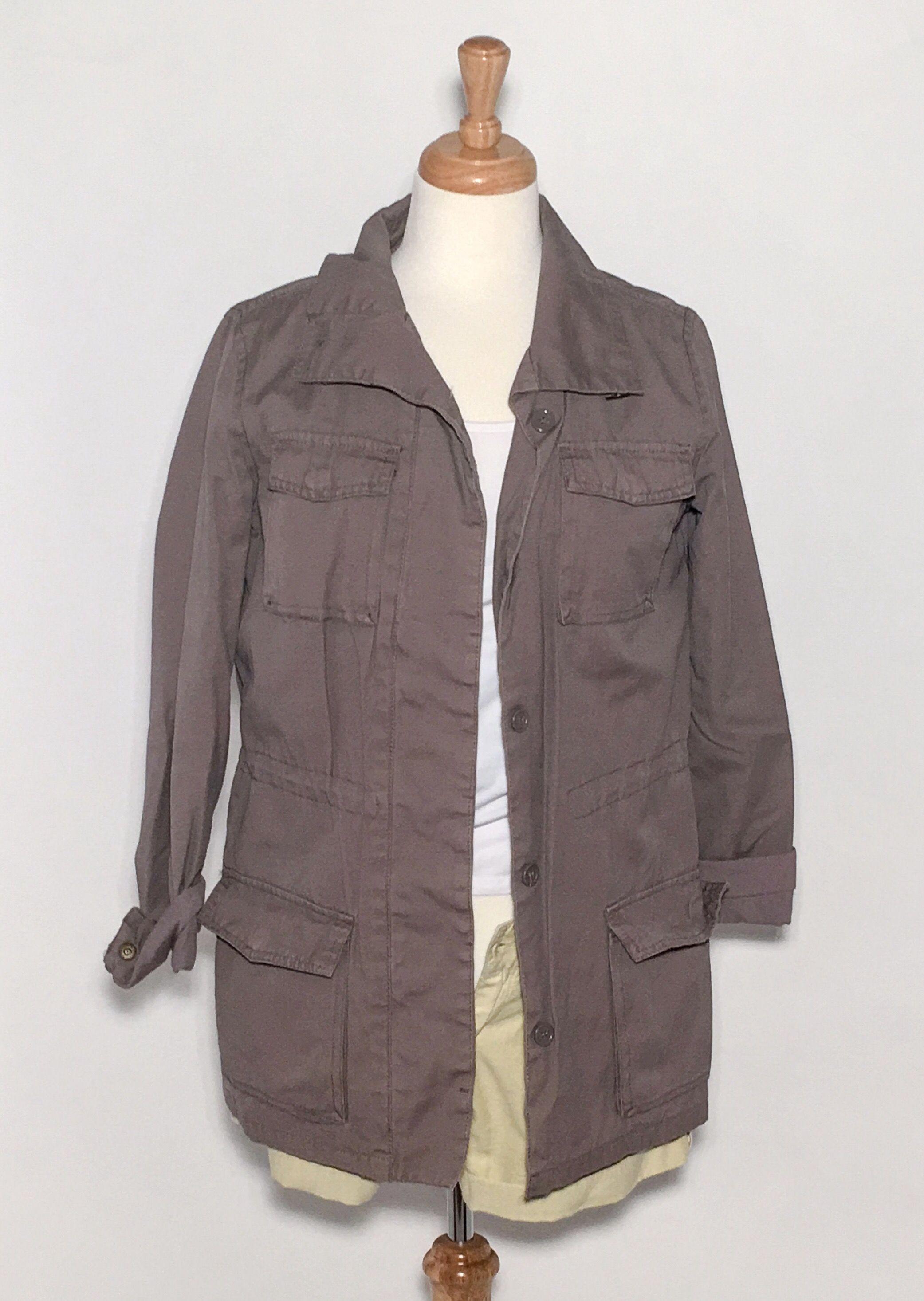 Saodimallsu Womens Casual Military Anorak Safari Utility Trench Jacket Windbreaker Parka Hoodie Coat