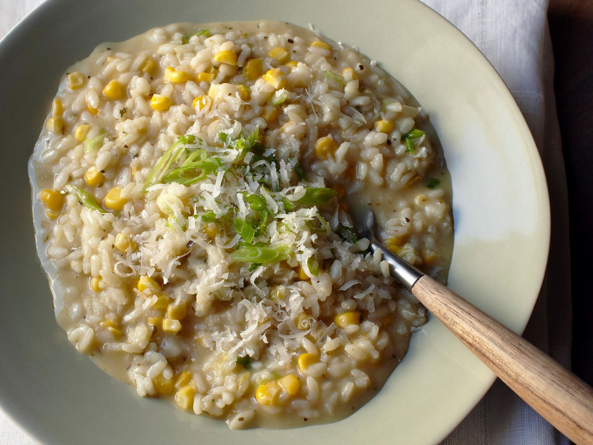 Watch Roast Chicken Breasts with Sweetcorn Risotto and Caramelised Shallots Recipe video