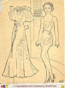 Barbara Stanwyck by Laura Brock 1934. I just think these old movie star paper dolls are great. Wish they still made them like the old days. This is from Ebay.