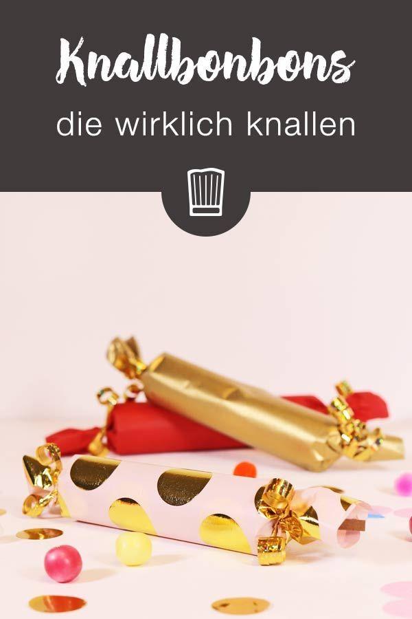 So bastelt ihr echte Knallbonbons | Chefkoch.de