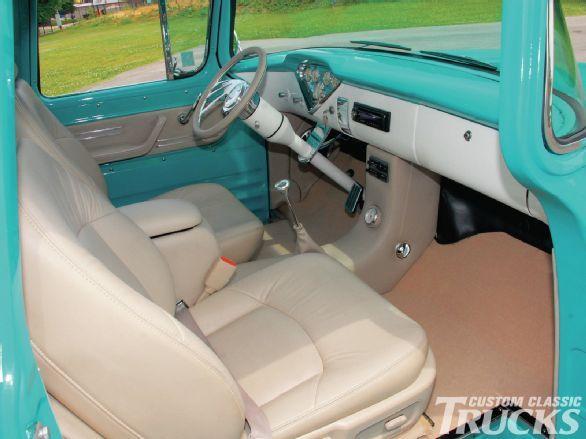 1959 Chevrolet Apache Custom Classic Trucks Magazine Interiors