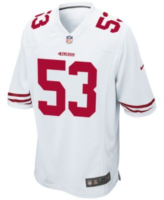 Nfl · Nike Men s NaVorro Bowman San Francisco 49ers Game Jersey - White XXL 3a114f45550