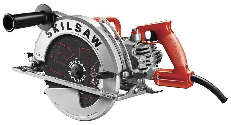 Skilsaw 15 Amp 10 1 4 Magnesium Sawsquatch Worm Drive Circular Saw Review Timber Frame Hq Worm Drive Circular Saw Skil Saw Circular Saw