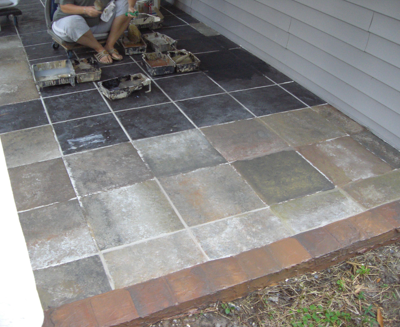 Outdoor Tile Concrete Outdoor Tile Over Concrete Patio Tiles