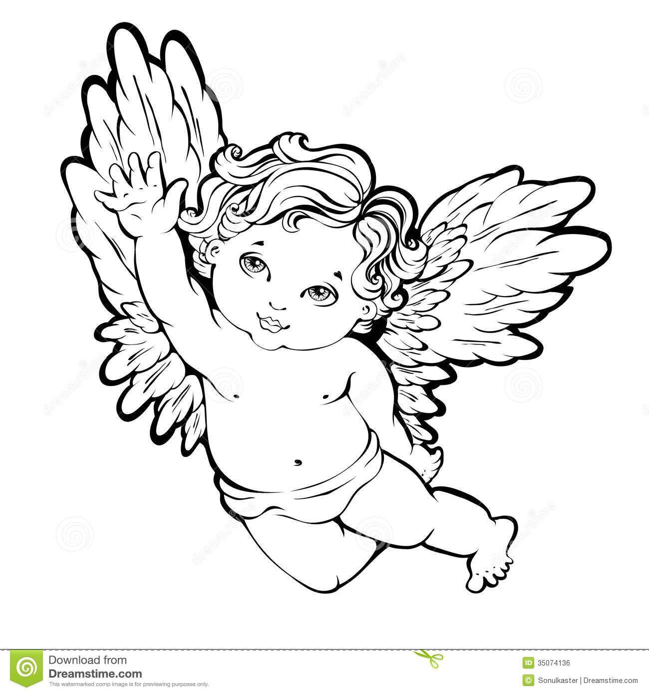 Imagen De Thumbs Dreamstime Z Angel Vector