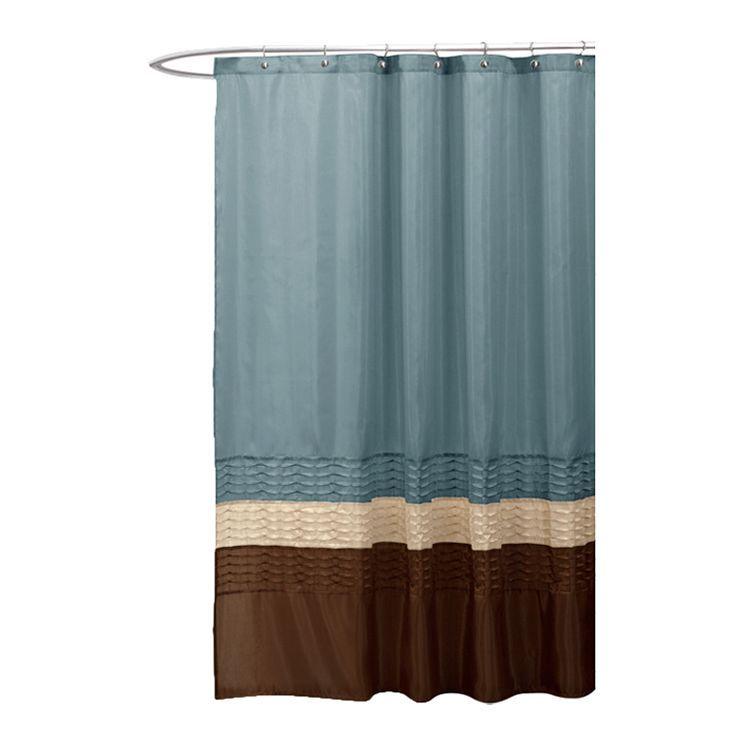 Mia Shower Curtain Hoofdsuite Lush Logeerkamer Badkamerideen Beddengoed Haken