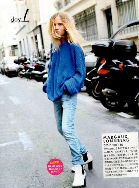 Rock 'n' Roll Style ☆ Margaux Lonnberg Elle Japan