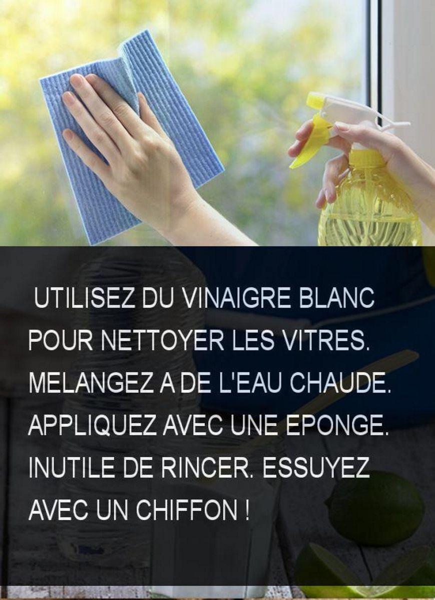 une astuce pour nettoyer les vitres sans traces et sans produits