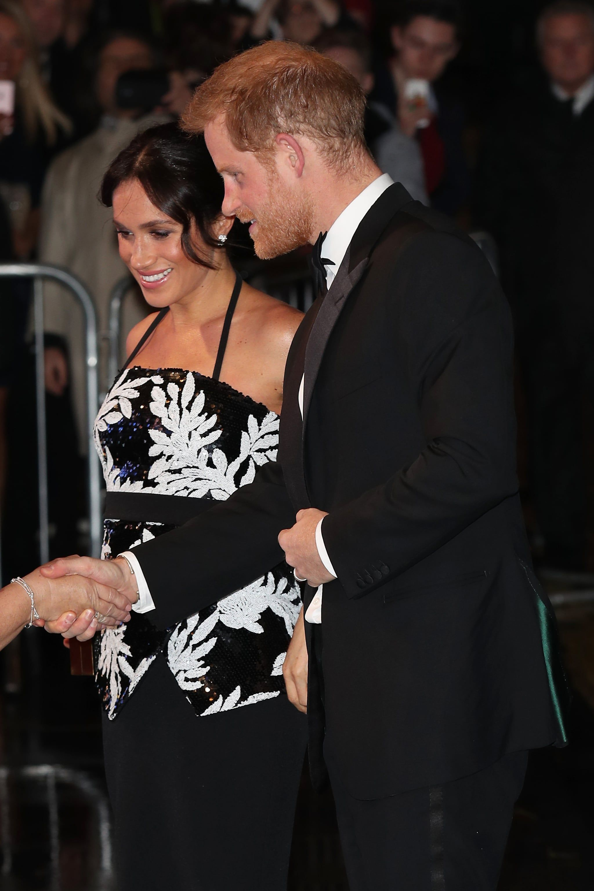 Harry and Meghan Look So Stunning at the Royal Variety