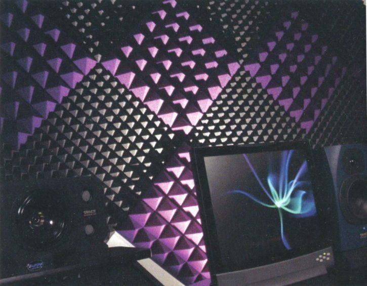 Auralex Acoustic Foam For The Boy S Playroom Home