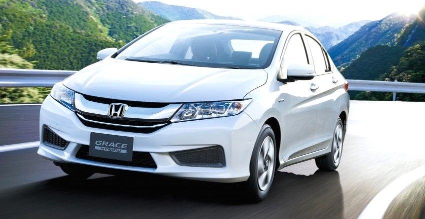 Honda City Hybrid Unveiled In Japan Http Www Caradvice Com Au 317440 Honda City Hybrid Unveiled In Japan