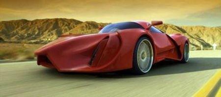 Ferrari Enzo by Peter Simon - 3D