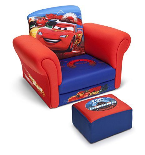 Awesome Delta Children Upholstered Chair With Ottoman Kids Evergreenethics Interior Chair Design Evergreenethicsorg
