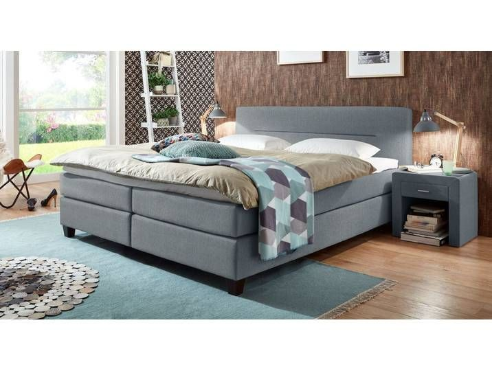 Elegantes Graues Boxspringbett In 120x200 Cm Clarksville Betten De Elegantes Graues Boxspringbett In In 2020 Box Spring Bed Living Room Decor Apartment Bed Springs