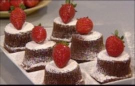 עוגת שוקולד חמה - ללא קמח. מתאימה גם לפסח