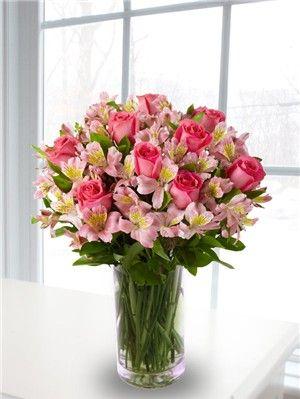 Alstroemeria Wedding Centerpieces Google Search Large Flower Arrangements Flower Arrangements Valentine S Day Flower Arrangements