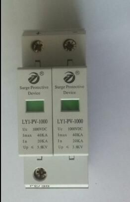 DC 2P 20KA~40KA 800V DC Surge Protector protection Low-voltage ...