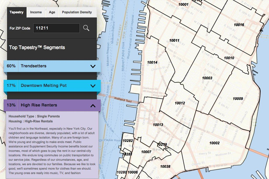 Find Out What Your Zip Code Says About You With This