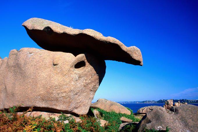 Pink Granite Coast Brittany Visit Europe Brittany Medieval Town