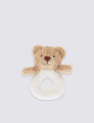 Bear Ring Rattle | M&S