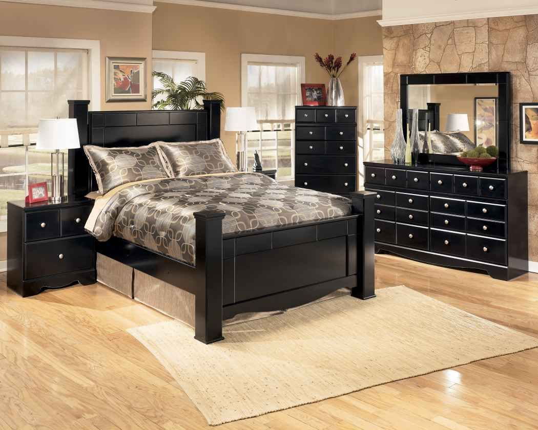 Tan walls with black furniture bedroom ideas pinterest for Master bedroom furniture ideas