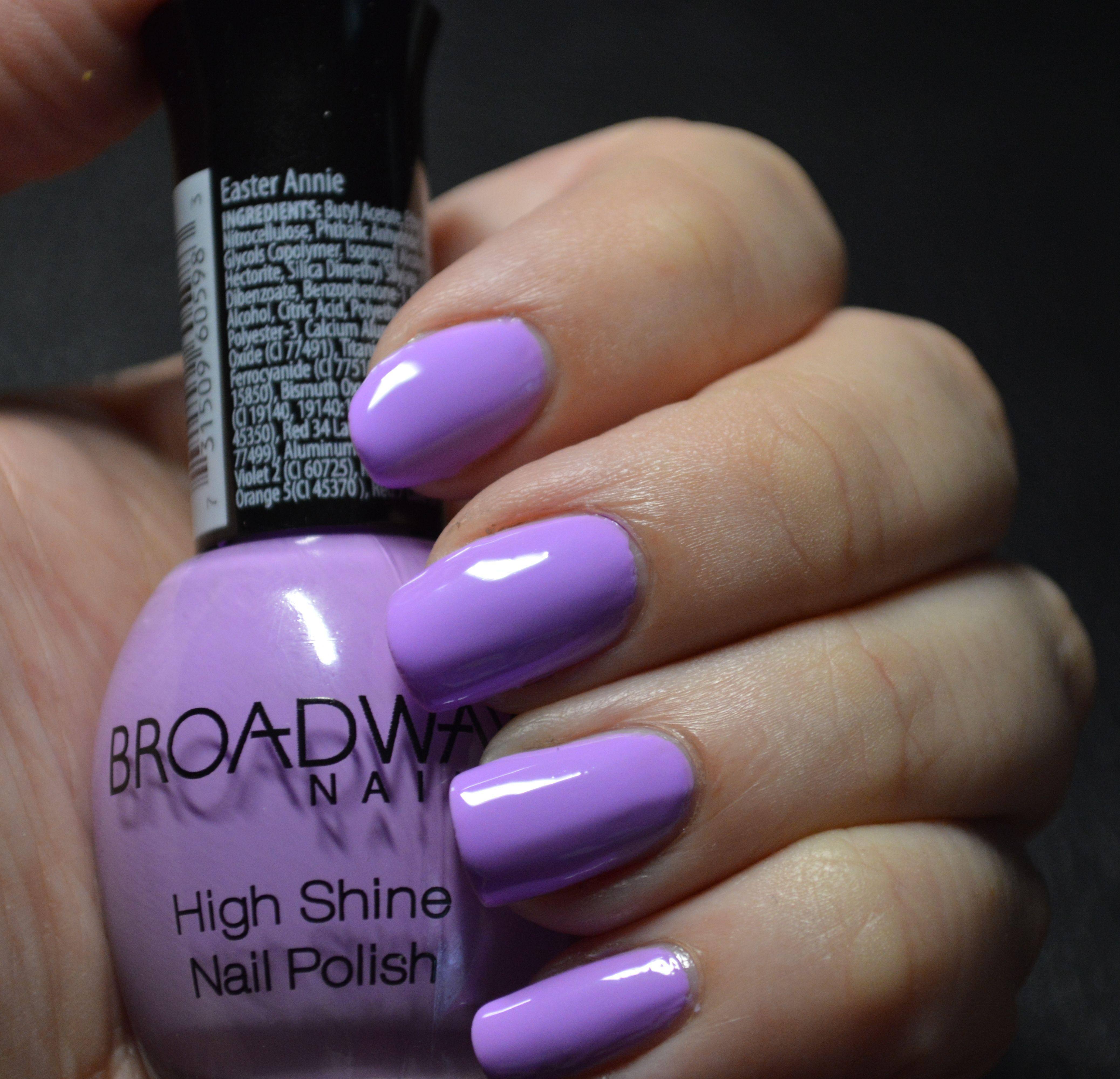 #broadwaynails in #easterannie