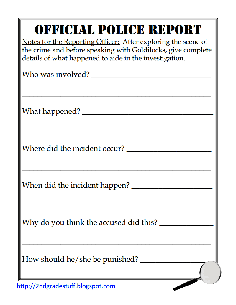 Police Report Sample.pdf - Google Drive | Fairy Tales | Pinterest ...