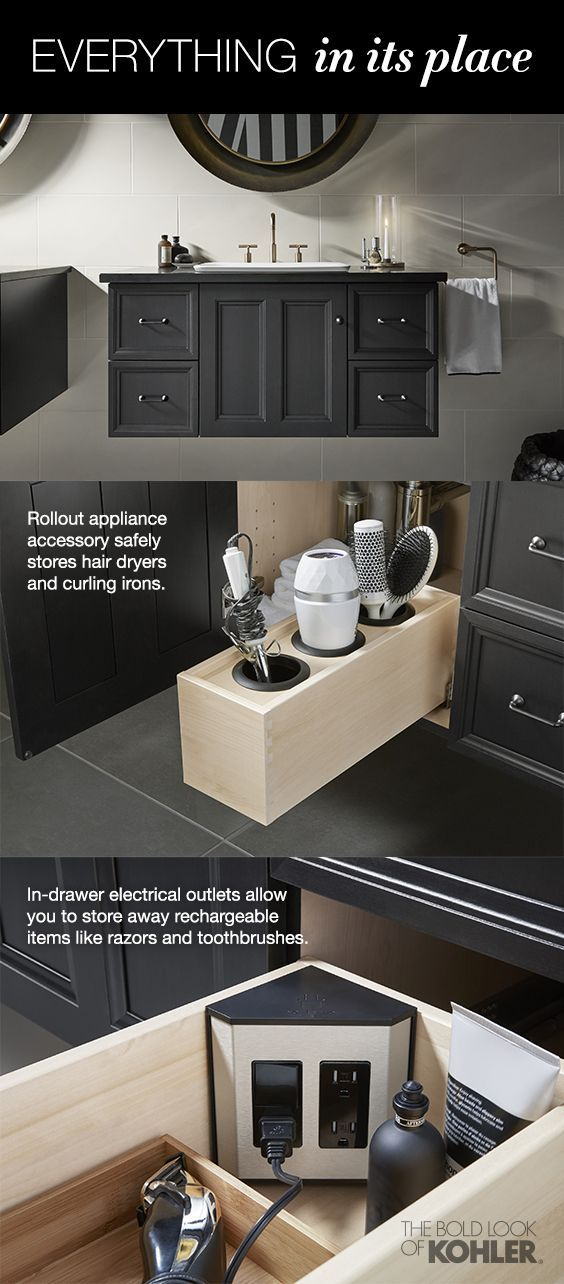 Everything in its place – proper storage is vital for a clutter-free ...