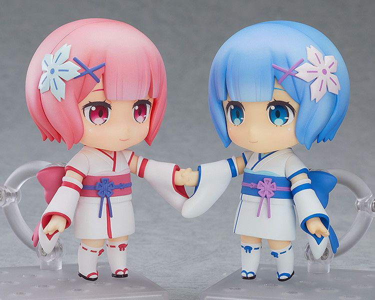 Ram Re:Zero Starting Life in Another World Nendoroid 732 Action Figurine Statue
