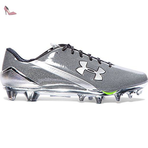 Under Armour UA Spotlight in, Chaussures de Football Homme, Noir (Black 003), 42.5 EU