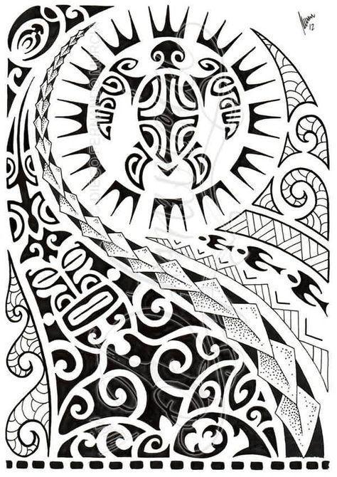 Latest Black Polynesian Half Sleeve Tattoo Design Polynesiantattoossymbols Polynesian Tattoo Designs Maori Tattoo Polynesian Tattoo