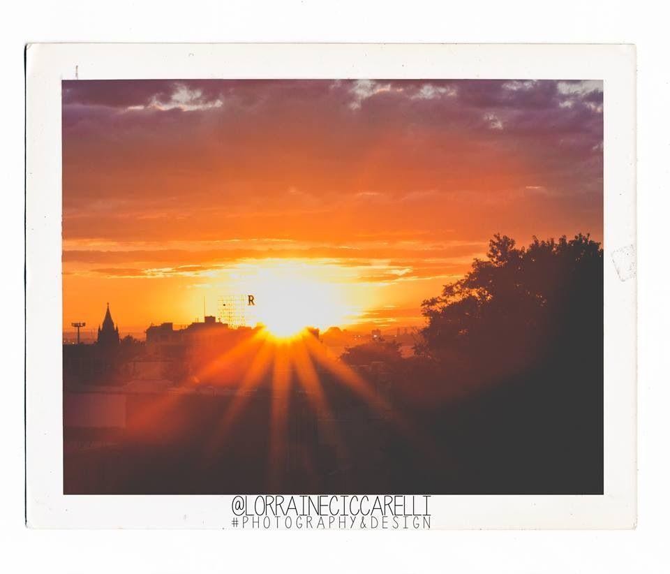 Beautiful sunset by my talented friend Lorraine