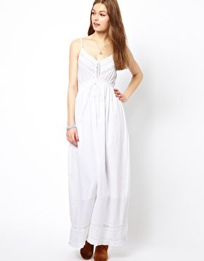 Dirty White Maxi Dress