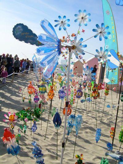 Jardins Du Vent De Berck Sur Mer Plasticien Recup Art De