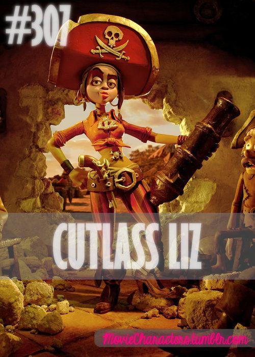 The Pirates Band Of Misfits Cutlass Liz