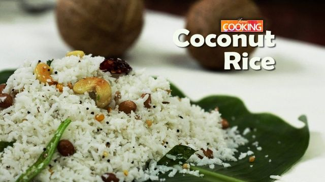 Coconut Rice Recipe Ingredients Fresh Grated Coconut 1 Cup Cooked Rice 1 Bowl Oil 1 Tbsp Chana Dal Coconut Rice How To Cook Rice Coconut Rice Recipe