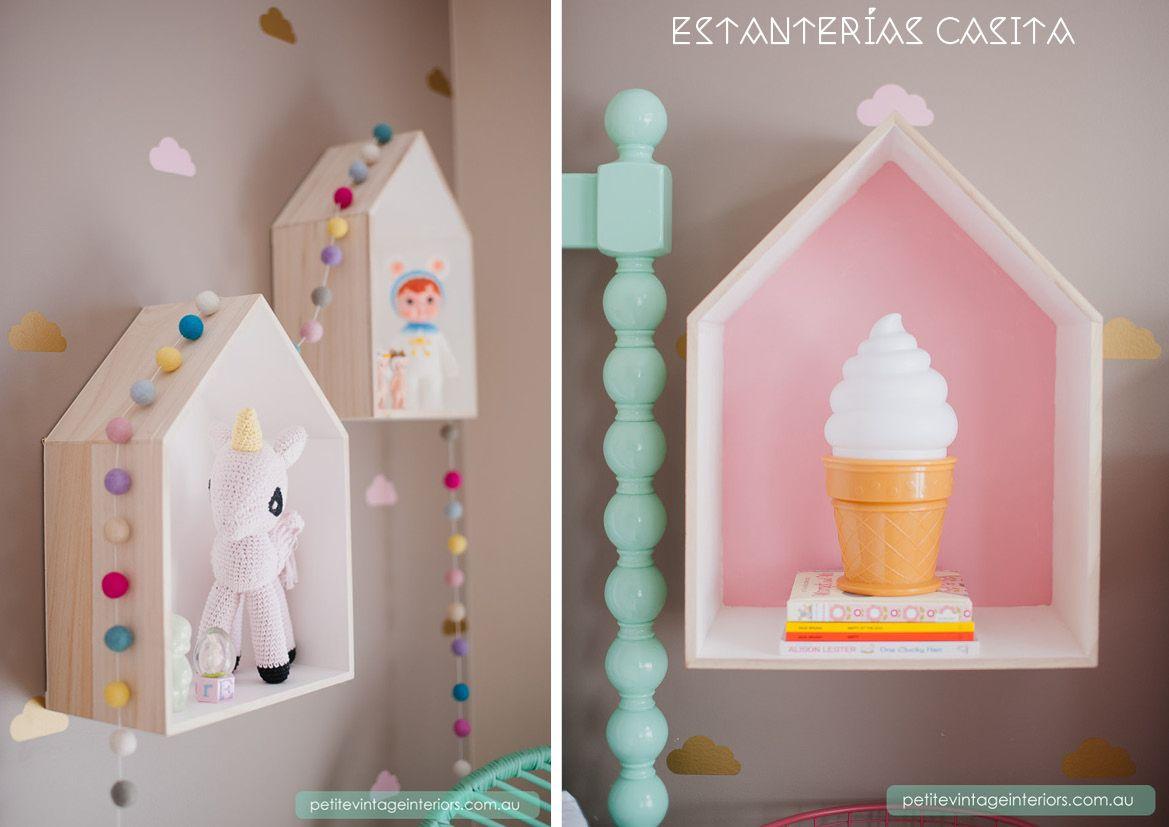 Decoraci n infantil chalk paint casita de madera - Blog decoracion infantil ...