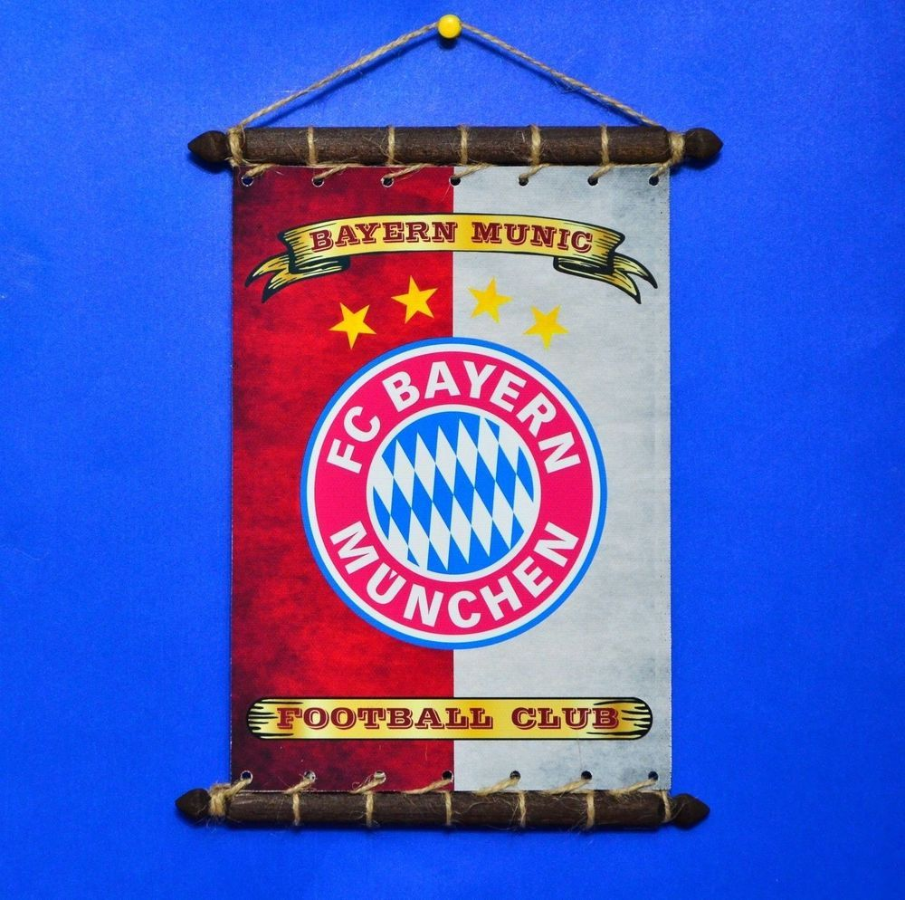 Bayern Munich F ootball Club. FLAG PENNANT Fully Gloss Laminated, size: 10 x 14,5 cm 4 x 5,5 in. Rare Grunge Style FLAG and CREST Of. Flag (Banner) 100% Cotton Canvas, size: 18 x 24 cm, 7 x 9,5. | eBay!