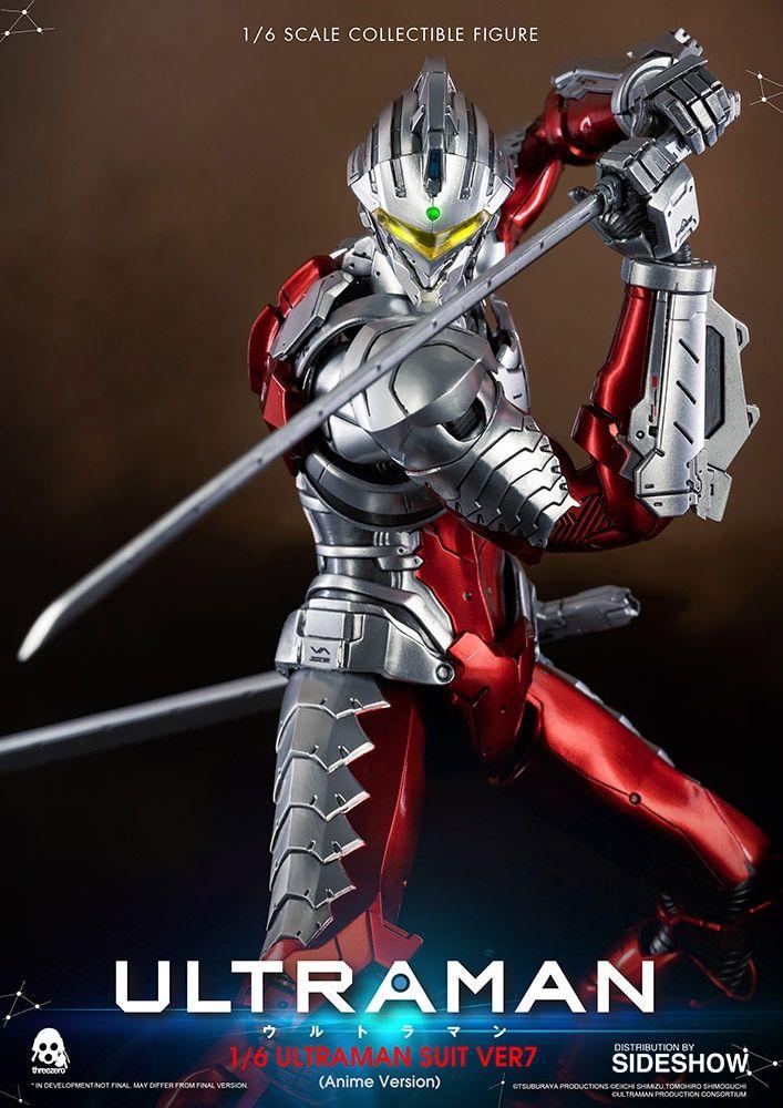 Ultraman Suit Ver7 (Anime Version) Figura Sixth Scale