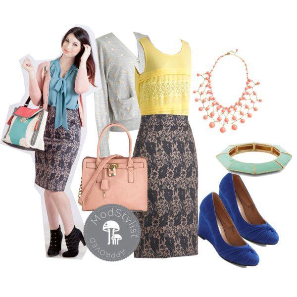 Secretary of Slate Skirt by ModCloth