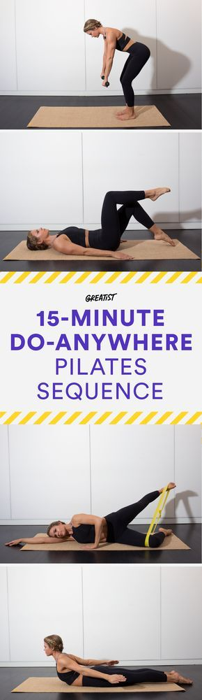 The Best Pilates Moves You Can Do Without a Reformer #yogaypilates