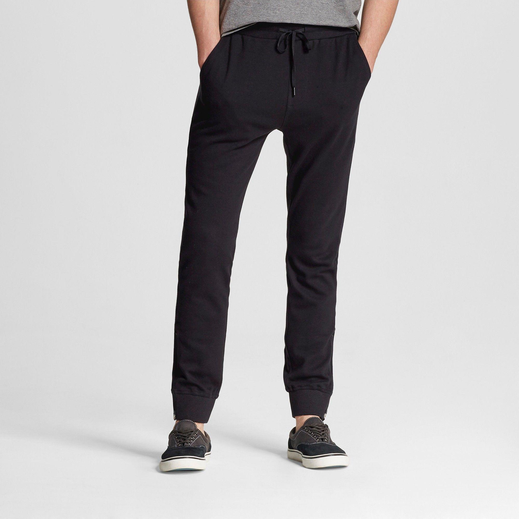 b8fd2677b005b2 Men's Jogger Pants Black L - Mossimo Supply Co. | Products | Mens ...