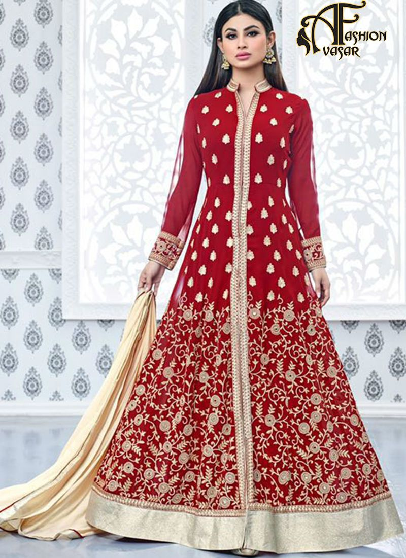 wedding dress for indian bride online. bridal salwar kameez online ...