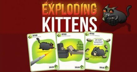Exploding Kittens Card Games Beams 32+ New Ideas games