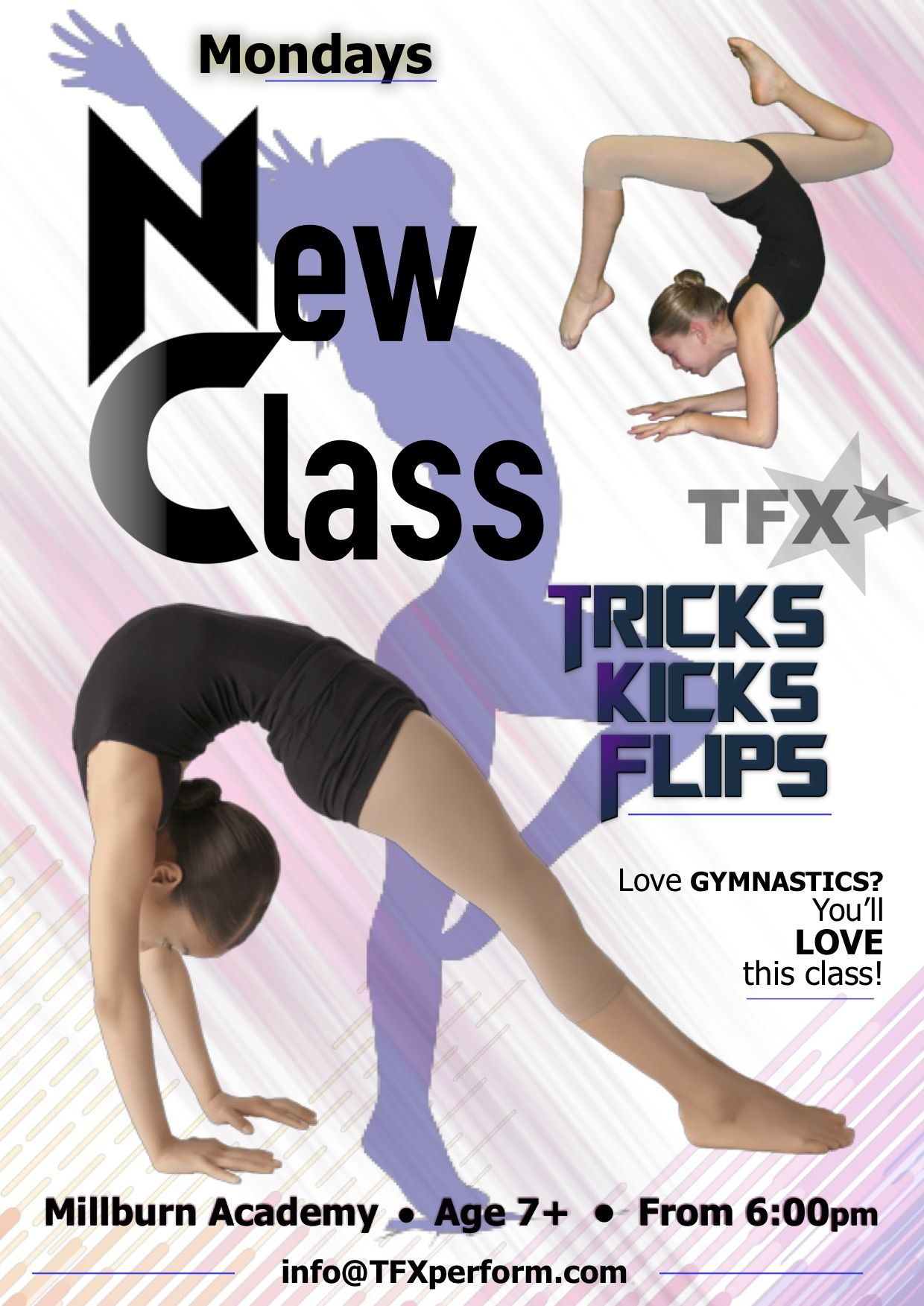 If you love gymnastics youll love this class nfrom